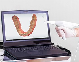 tooth scan