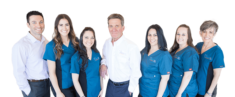 Hart Orthodontics team