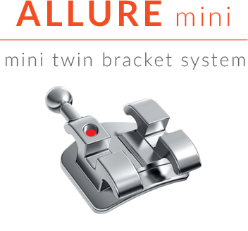 Allure mini bracket system